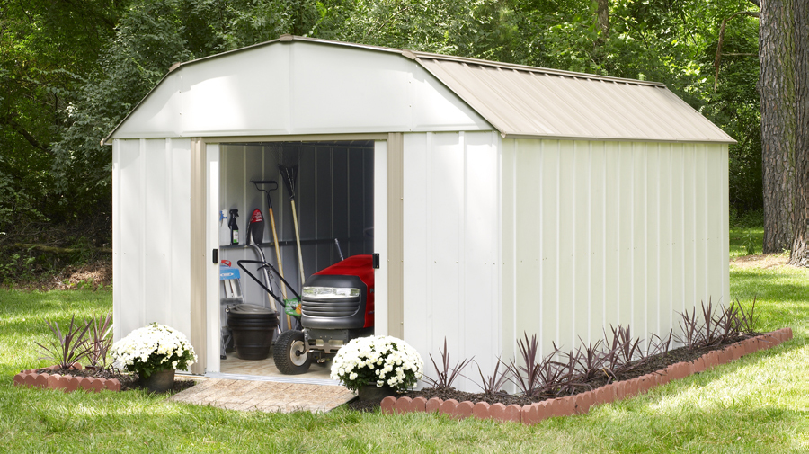 4 Backyard Solutions for an Organized Outdoor Space. backyard storage & 4 Backyard Solutions for an Organized Outdoor Space - ShelterLogic ...