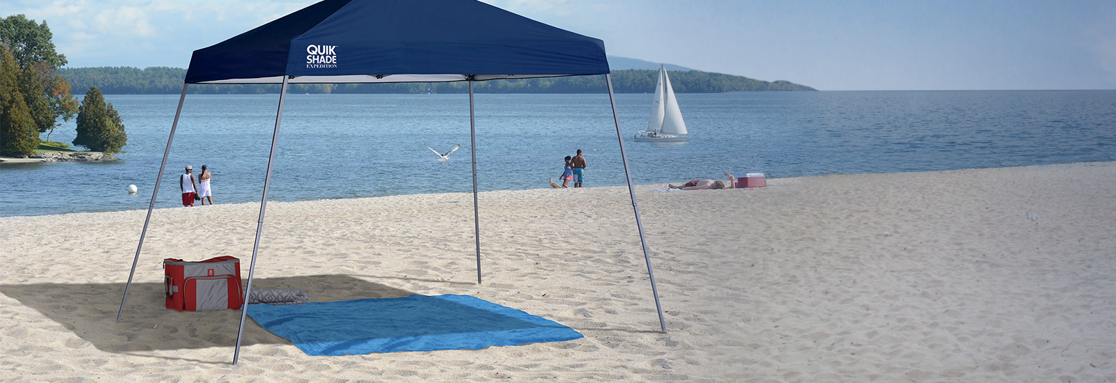 Quick Shade Pop-Up Canopies, Portable Chairs, and other great outdoor products!