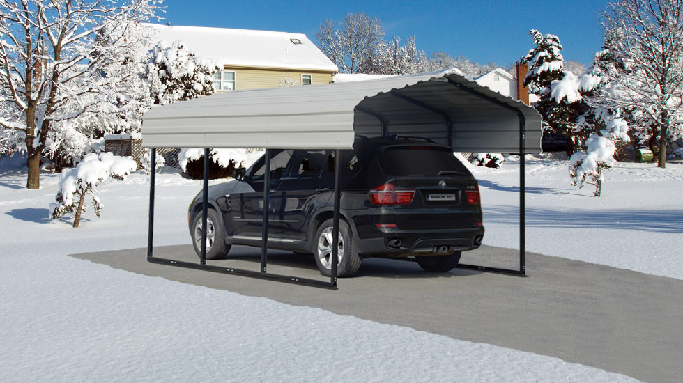 winter preparation, Carport,