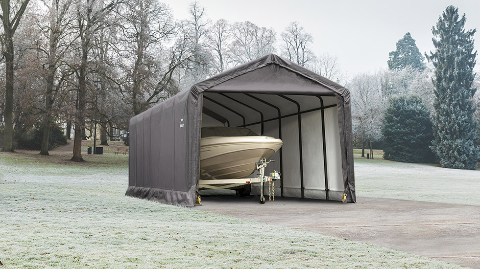 Wind And Snow Rated Winter Storage Shelters Shelterlogic