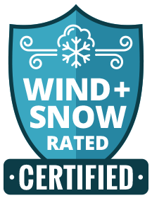 Wind and Snow Rated Certified Icon